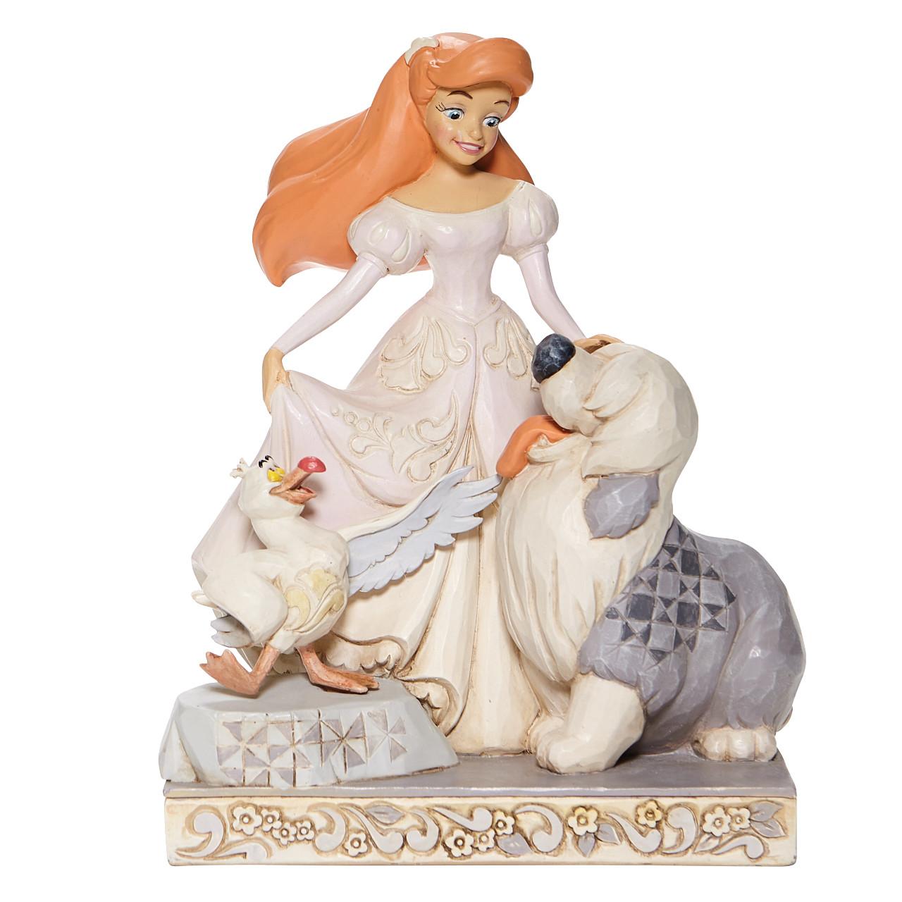 Disney Traditions - Spirited Siren (White Woodland Ariel Figurine)
