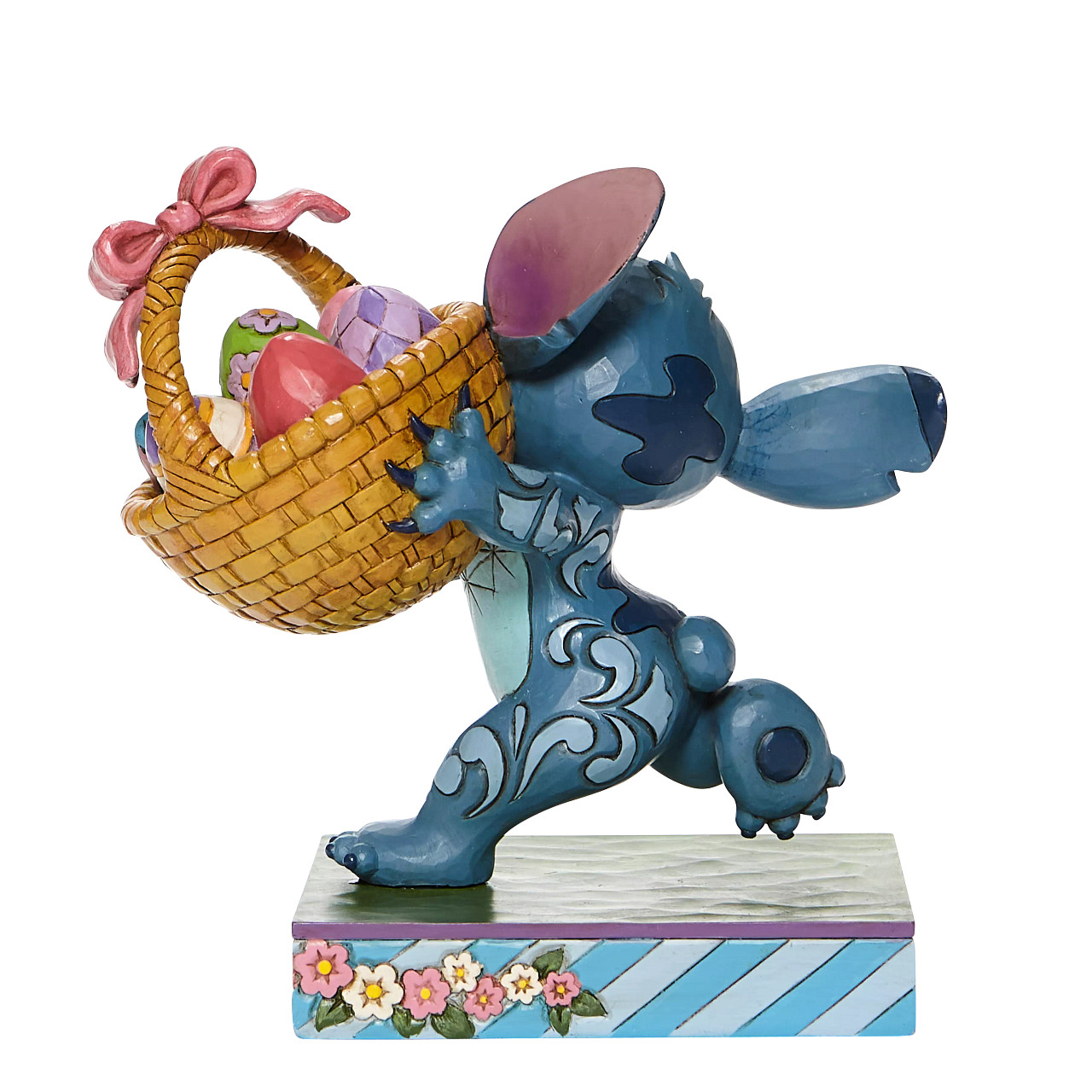 Disney Traditions - Bizarre Bunny (Stitch Running Off with Easter Basket)