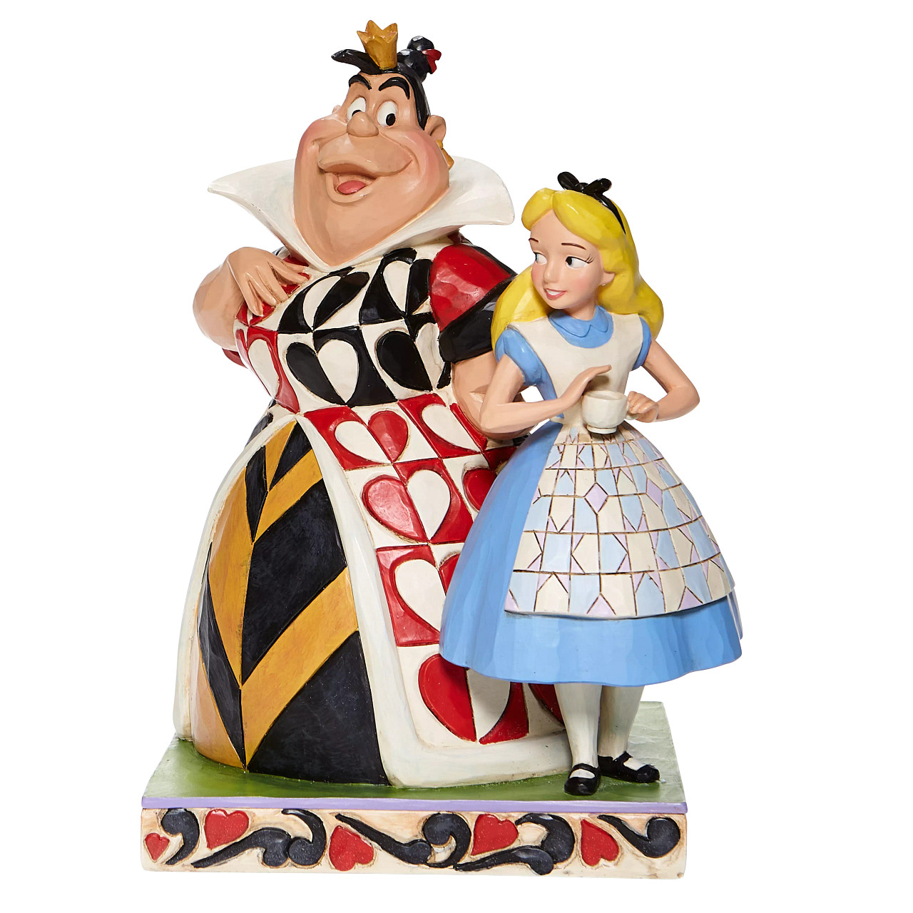 Disney Traditions - Chaos and Curiosity (Alice and Queen of Hearts Figurine)