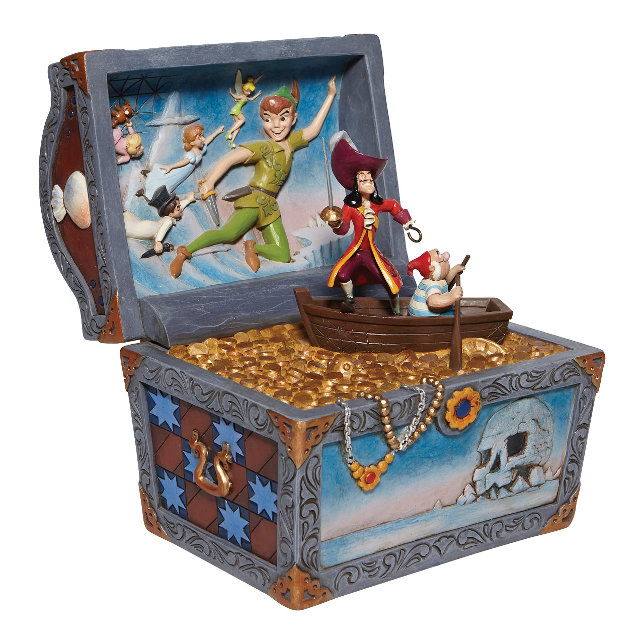 Disney Traditions - Treasure-strewn Tableau (Peter Pan Treasure Chest)