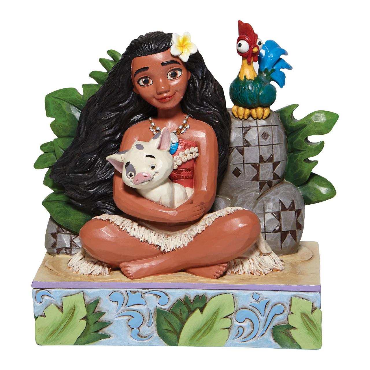 Disney Traditions - Welcome to Motunui (Moana, Pua and Hei Figurine)