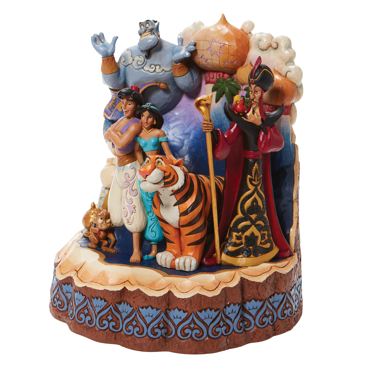 Disney Traditions - Aladdin Carved By Heart